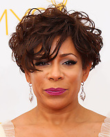 LOS ANGELES, CA, USA - AUGUST 25: Actress Selenis Leyva arrives at the 66th Annual Primetime Emmy Awards held at Nokia Theatre L.A. Live on August 25, 2014 in Los Angeles, California, United States. (Photo by Celebrity Monitor)