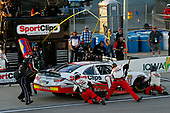 NASCAR XFINITY Series<br /> American Ethanol E15 250 presented by Enogen<br /> Iowa Speedway, Newton, IA USA<br /> Saturday 24 June 2017<br /> Kyle Benjamin, SportClips Toyota Camry pit stop<br /> World Copyright: Brett Moist<br /> LAT Images