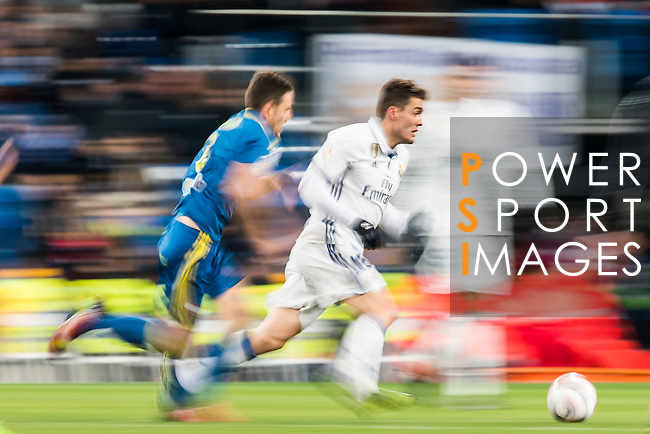 Mateo Kovacic of Real Madrid in action during their Copa del Rey 2016-17 Quarter-final match between Real Madrid and Celta de Vigo at the Santiago Bernabéu Stadium on 18 January 2017 in Madrid, Spain. Photo by Diego Gonzalez Souto / Power Sport Images