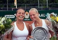 22-08-10, Tennis, Amstelveen, NTK, Nationale Tennis Kampioenschappen,  Kiki Bertens en Nicole Thyssen (L) kampioenen dames dubbel