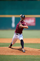 Niko Mazza (14) of Madison-Ridgeland Academy in Madison, MS during the Perfect Game National Showcase at Hoover Metropolitan Stadium on June 20, 2020 in Hoover, Alabama. (Mike Janes/Four Seam Images)
