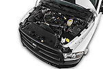 Car Stock 2018 Ram Ram-3500-Pickup Tradesman-Regular-cab 4 Door Pick-up Engine  high angle detail view