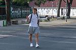 15.09.2020, Trainingsgelaende am wohninvest WESERSTADION - Platz 12, Bremen, GER, 1.FBL, Werder Bremen Training<br /> <br /> Spieler kommen am Dienstag morgen n Zivil zum Training<br /> <br /> Joshua Sargent (Werder Bremen #19)<br /> <br /> <br /> Foto © nordphoto / Kokenge