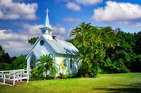 Church on The Big Island, Hawaii