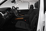 Front seat view of a 2018 Chevrolet Tahoe Premier 2WD 5 Door SUV front seat car photos