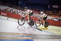 World Champions Sir Bradley Wiggins (GBR/Wiggins) & Mark Cavendish (GBR/DimensionData)<br /> <br /> 2016 Gent 6<br /> day 1