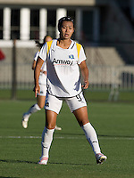 23 July 2009:  Han Duan of the LA Sol in action during the game against FC Gold Pride at Buck Shaw Stadium in Santa Clara, California.   FC Gold Pride tied Los Angeles Sol, 0-0.