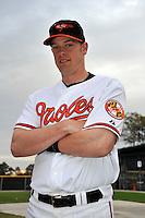 Feb 27, 2010; Tampa, FL, USA; Baltimore Orioles  catcher Matt Wieters (32) during  photoday at Ed Smith Stadium. Mandatory Credit: Tomasso De Rosa