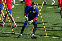 Spainsh David De Gea  during the training of the spanish national football team in the city of football of Las Rozas in Madrid, Spain. November 09, 2016. (ALTERPHOTOS/Rodrigo Jimenez) ///NORTEPHOTO.COM