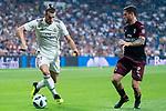 Real Madrid Gareth Bale and A.C. Milan Davide Calabria during Santiago Bernabeu Trophy match at Santiago Bernabeu Stadium in Madrid, Spain. August 11, 2018. (ALTERPHOTOS/Borja B.Hojas)