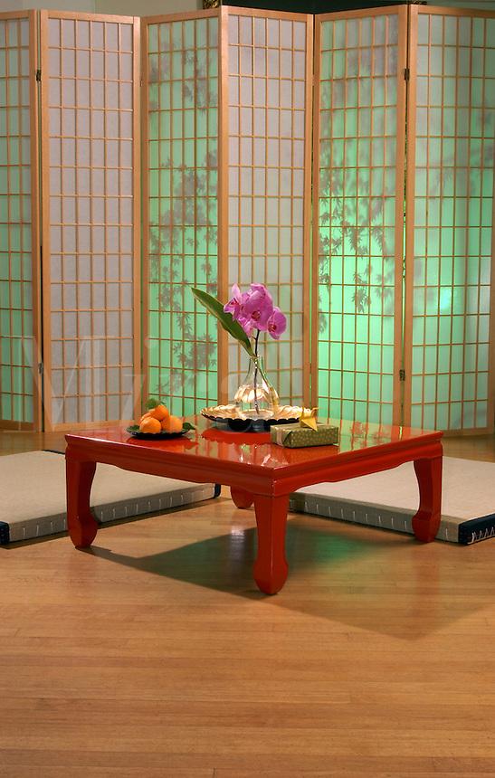 Japanese decor.