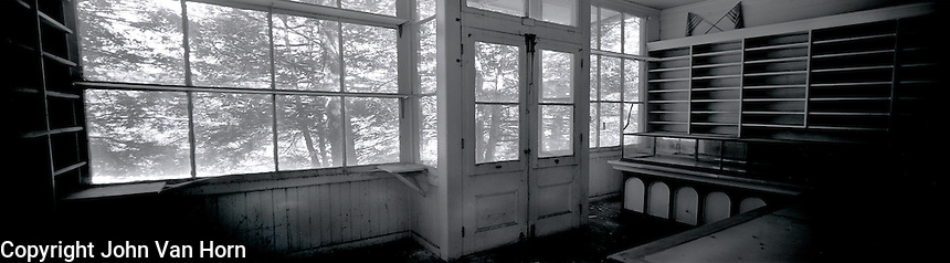 Dorflinger General Store, White Mills, PA<br /> Photo was taken inside of the store facing the front windows.