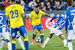Jese Rodriguez of UD Las Palmas during the match of La Liga between Deportivo Leganes and Union Deportiva Las Palmas  Butarque Stadium  in Madrid, Spain. April 25, 2017. (ALTERPHOTOS/Rodrigo Jimenez)
