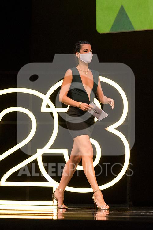 Noemi Ruiz during Malaga Film Festival Gala at Teatro Cervantes.August 24 2020. (Alterphotos/Francis González)
