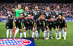 Players of FC Bayern Munich pose for photos during their 2016-17 UEFA Champions League match between Atletico Madrid vs FC Bayern Munich at the Vicente Calderon Stadium on 28 September 2016 in Madrid, Spain. Photo by Diego Gonzalez Souto / Power Sport Images