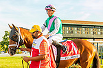 SEPT 25, 2021: Fulsome post parade in the Gr.1 Pennsylvania Derby, for 3-year olds, going 1 1/8 mile, at Parx Racing, Bensalem, PA. Sue Kawczynski/Eclipse Sportswire/CSM