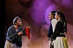 UN VIOLON SUR LE TOIT..Auteur : STEIN Joseph..Adaptateur : LAPORTE Stephane..Mise en scene : DESCHAUX Jeanne..Decor : TAPIERMAN Serge..Avec :..WILMET Alain:TEVYE le laitier..MUNIER Amelie:TZEITEL..LEVY Kevin:Mr KAMZOIL le tailleur..Lieu : Le Palace..Ville : Paris..Le : 18 02 2010..© Laurent PAILLIER / photosdedanse.com..All rights reserved
