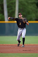 Pittsburgh Pirates Chris Diaz (2) during a minor league Spring Training intrasquad game on April 3, 2016 at Pirate City in Bradenton, Florida.  (Mike Janes/Four Seam Images)