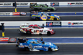 NHRA Mello Yello Drag Racing Series<br /> NHRA Four-Wide Nationals<br /> zMAX Dragway, Concord, NC USA<br /> Sunday 30 April 2017<br /> Chad Head, Del Worsham, Tequila Patron, Lucas Oil, Toyota, Camry, Funny Car<br /> World Copyright: Jason Zindroski<br /> HighRev Photography