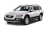 2015 Volvo XC70 T5 5 Door Wagon angular front stock photos of front three quarter view
