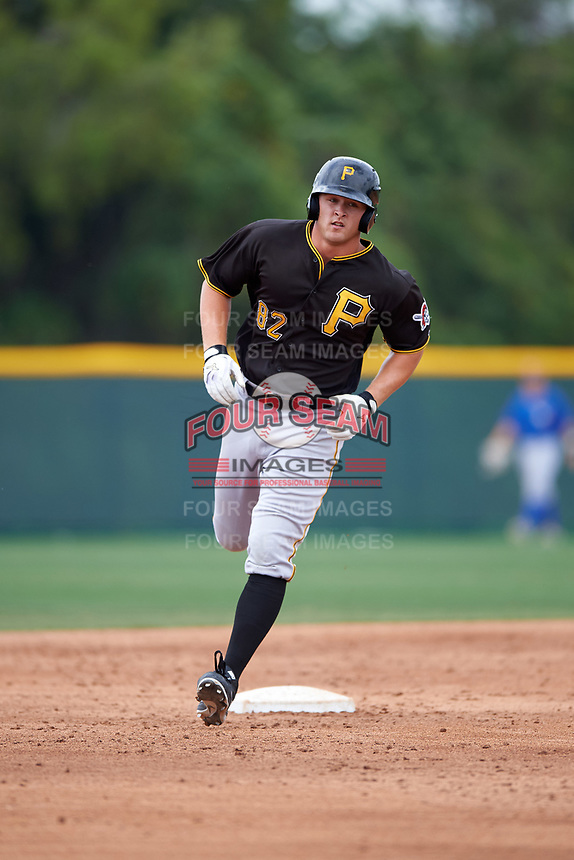 Pittsburgh Pirates Jerrick Suiter (82) during a minor league Spring Training game against the Toronto Blue Jays on March 24, 2016 at Pirate City in Bradenton, Florida.  (Mike Janes/Four Seam Images)