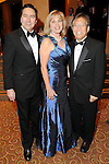 From left: Denis DeBakey, Lavonne Cox and Gordon Quan at the Opportunity Ball benefitting Houston Community Collefe at the InterContinental Houston Friday Jan.  08,2010.(Dave Rossman/For the Chronicle)