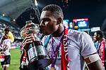 Fiji are the Cup Final Winners of the HSBC Hong Kong Rugby Sevens 2017 on 09 April 2017 in Hong Kong Stadium, Hong Kong, China. Photo by Marcio Rodrigo Machado / Power Sport Images