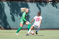 STANFORD, CA - SEPTEMBER 12: Katie Meyer during a game between Loyola Marymount University and Stanford University at Cagan Stadium on September 12, 2021 in Stanford, California.