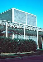 Renzo Piano: The Menil Collection, Houston. Western, short facade.