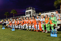 Lakewood Ranch, FL - Wednesday, October 10, 2018:   USWNT Bench during a U-17 USWNT match against Colombia.  The U-17 USWNT defeated Colombia 4-1.