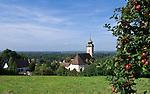 Germany, Baden-Wuerttemberg, Markgraefler Land, Bad Bellingen, overview