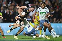 27th March 2021; Hamilton, New Zealand;  Luke Jacobson. Chiefs versus Blues, Super Rugby  AOTEAROA, FMG Waikato Stadium, Hamilton, New Zealand.