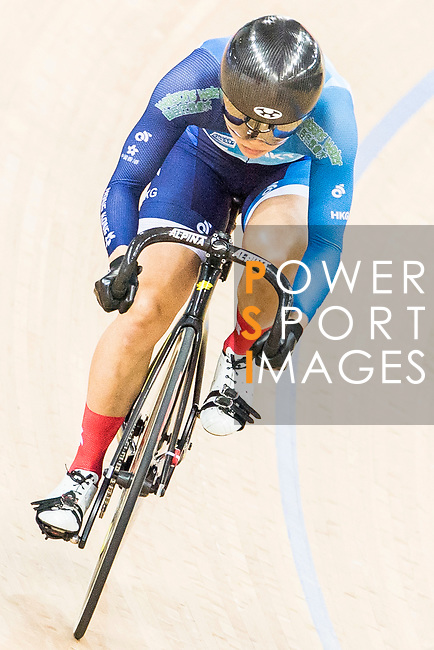 Lee Wai Sze of the Hong Kong team competes in the Women's Sprint - Quarterfinals as part of the 2017 UCI Track Cycling World Championships on 13 April 2017, in Hong Kong Velodrome, Hong Kong, China. Photo by Chris Wong / Power Sport Images