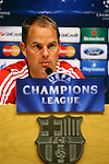 UEFA Champions League 2013/2014.<br /> Press Conference and Training (Ajax).<br /> Frank de Boer.