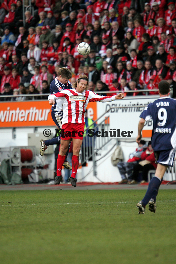Kopfball Fabian Gerber (FSV Mainz 05)