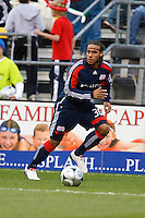 25 OCTOBER 2009:  Kevin Alston of the New England Revolution (30) during the New England Revolution at Columbus Crew MLS game in Columbus, Ohio on October 25, 2009.