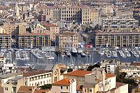 - Marsiglia, panorama della città e del Porto Vecchio<br /> <br /> <br /> <br /> - Marseille, panorama of the city and the Old Port