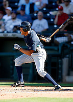 Tyson Gillies -  Seattle Mariners - 2009 spring training.Photo by:  Bill Mitchell/Four Seam Images
