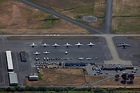 aerial photograph of the Napa County Airport (APC), Napa, California
