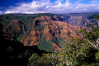 Waimea Canyon on a bright sunny day