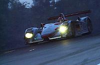 Emanuele Pirro  #2 Audi  class: LMP900