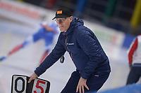 SPEEDSKATING: 22-11-2019 Tomaszów Mazowiecki (POL), ISU World Cup Arena Lodowa, 5000m Men Division A, Jillert Anema (trainer/coach easyJet NED), ©photo Martin de Jong