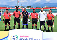 TULUA-COLOMBIA, 12-03-2020: Orsomarso S. C. y Boca Juniors de Cali, durante partido por la fecha 7 del Torneo BetPlay DIMAYOR I 2020 en el estadio Doce de Octubre de la ciudad de Tulua. / Orsomarso S. C. and Boca Juniors de Cali, during a match for the 7th date of the BetPlay DIMAYOR I 2020 tournament at the Doce de Octubre de stadium in Tulua city. / Photo: VizzorImage / Jorge Rotavisnky / Cont.