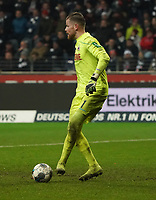 Torwart Timo Horn (1. FC Koeln) - 18.12.2019: Eintracht Frankfurt vs. 1. FC Koeln, Commerzbank Arena, 16. Spieltag<br /> DISCLAIMER: DFL regulations prohibit any use of photographs as image sequences and/or quasi-video.