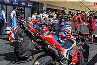 3rd October 2021; Austin, Texas, USA; THe winning motorcycles in parc ferme after the MotoGP Red Bull Grand Prix of the Americas held October 3, 2021 at the Circuit of the Americas