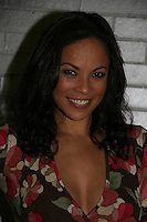 One Life To Live's Daphnee Duplaix appears at Big Apple Comic Con for autographs and photos on October 16 (and 17 & 18), 2009 at Pier 94, New York City, New York. (Photo by Sue Coflin/Max Photos)