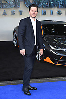 """Mark Wahlberg<br /> at the """"Transformers:The Last Night"""" Global premiere, Leicester Square, London. <br /> <br /> <br /> ©Ash Knotek  D3284  18/06/2017"""