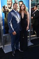 Jordan Peele + Chelsea Peretti @ the premiere of 'Keanu' held @ the Cinerama Dome theatre.<br /> April 27, 2016