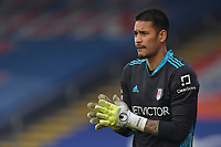 Alphonse Areola of Fulham during the Premier League behind closed doors match between Crystal Palace and Fulham at Selhurst Park, London, England on 28 February 2021. Photo by Vince Mignott / PRiME Media Images.