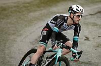 Simon Yates (GBR/Bike Exchange) descending the Col de la Colombière (1618 m)<br /> <br /> Stage 8 from Oyonnax to Le Grand-Bornand (151km)<br /> 108th Tour de France 2021 (2.UWT)<br /> <br /> ©kramon